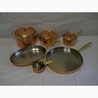 Набор высококачественной медно/стальной посуды