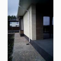 Отделка фасада, плитка из известняка
