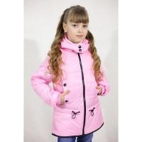 Демисезонные куртки - жилетки Зарина для девочек 4-8 лет