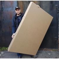 Большие картонные коробки для картины на заказ #packing paintings
