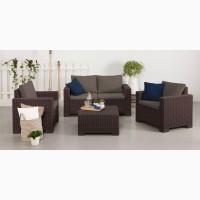 Комплект садовой мебели California 2 Seater Set Нидерланды Allibert, Keter для дома, кафе
