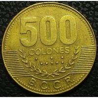 Коста-Рика 500 колон 2005 год