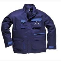 Куртка рабочая TX10 Portwest Texo, темно-синяя/синяя