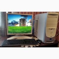 Компьютер в сборе (Pentium 651 3, 4Ггц, GPU 128Мб, 2Гб DDR2, HDD 80Гб)
