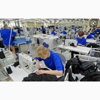 Швейная фабрика возьмет заказ на отшив