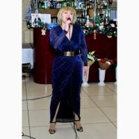 Ведущая-вокалистка на свадьбу, юбилей
