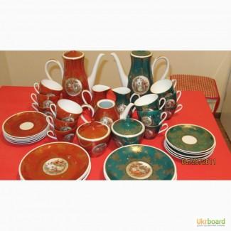 Кобальтовый чайный сервиз на 10 персон, 40 предметов, Германия, 70-е г. ХХвека