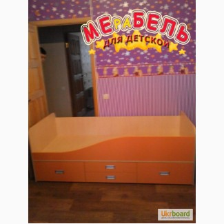 Кровать детская с ящиками (д5) Merabel