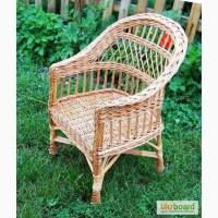 Плетеное кресло, Кресло С Повышенной Спинкой