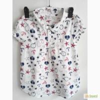 Летние рубашки на девочек. платья