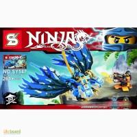 Конструктор Ninjago, дракон, фигурки, 261дет., в кор. 35 21 6с SY547