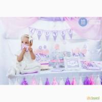Организация первого годика для малыша