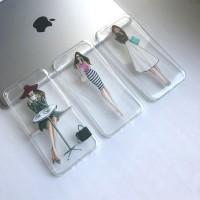 Силиконовый чехол Lady на iPhone 6/6s