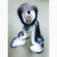 Собака игрушка марионетка. Производство. Подарок в год собаки