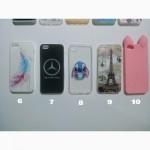 Чехол Бампер силиконовые с принтом на iphone 5