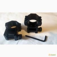 Кольца усиленные для оптического прицела на 22мм