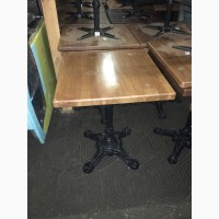 Стол на чугунной ножке б/у для кафе, бара, ресторана
