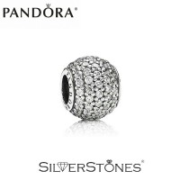 Оригинал Pandora Пандора шарм бусина Pave Паве арт. 791751CZ