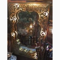Зеркала и светильники в Марокканском стиле