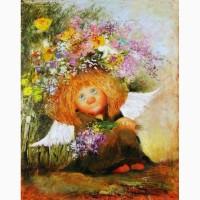 Картина маслом копия Чувиляевой для интерьера