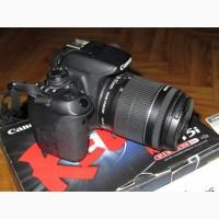 ФОТО+ВИДЕОкамера Canon EOS 700D EF-S 18-55 IS STM. КАК НОВАЯ. Недорого