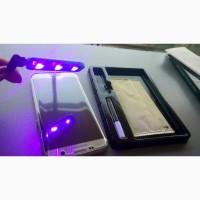 Закаленное Стекло 3D полное покрытие УФ-излучения для SAMSUNG Galaxy S8+ S9 плюс S7 edge