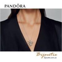 PANDORA DISNEY ― прозрачный медальон Микки 397177-75