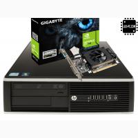 ИГРОВОЙ системный блок HP Compaq 6200 ELITE sff на i3-2100 и GeForce GT 710