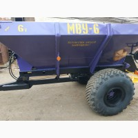 МВУ-6 РУМ-6 розкидач мінеральних добрив