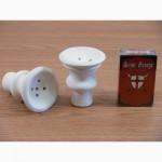 Чашки, горелки под табак для кальяна внешние и внутренние из белой глины, вулкан