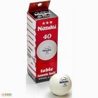 Набір професійних м ячів для настільного тенісу Nittaku 3-star