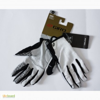 Giro DND (Down And Dirty) велосипедные перчатки велоперчатки белые