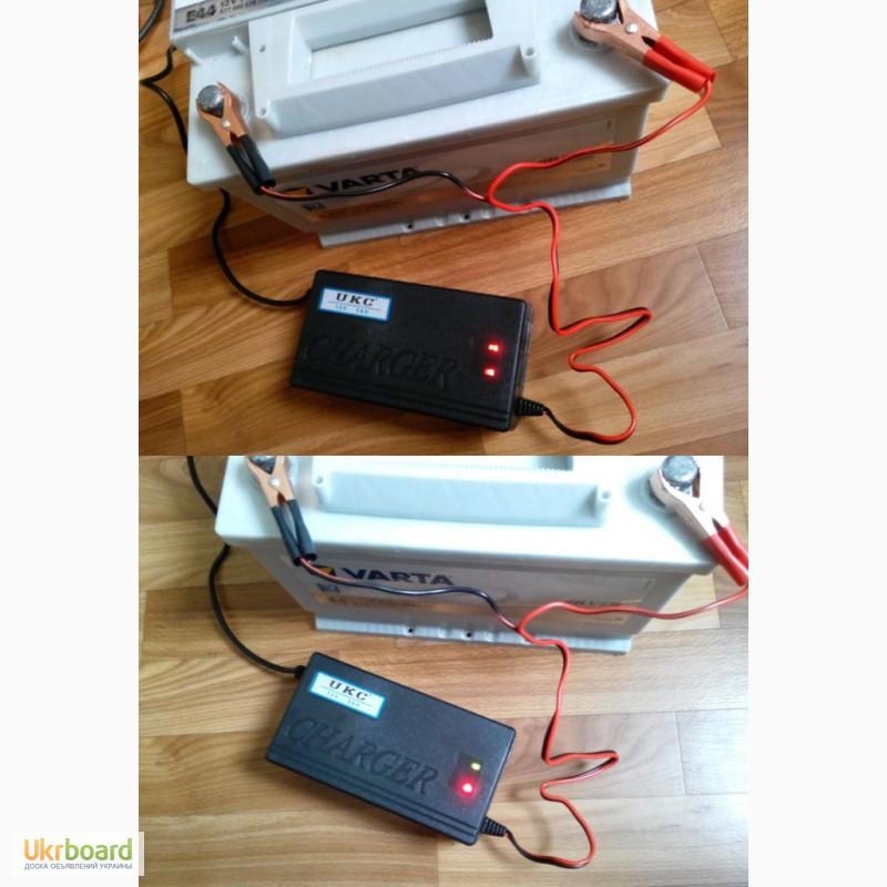Фото 4. Зарядное устройство автомат 12В 5А (для автомобильных аккумуляторов 20-80 А ч) новое