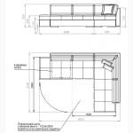 Диван Дейли - 1 угловой embawood