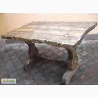 Стол деревянный под старину от производителя под заказ