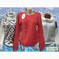 Женские теплые свитера оптом