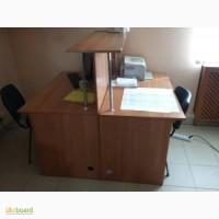 Продам мебель для офиса, двойной офисный стол с перегородкой