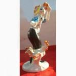Продам статуэтку Клоун с петухом Минского завода фарфор СССР