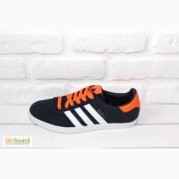 Мужские кроссовки Adidas Gazelle (Dark Blue Orange)