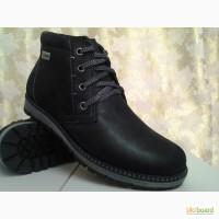 Зимние мужские ботинки из нубука MADOKS СКИДКА