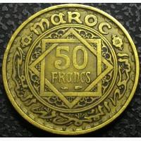 Марокко 50 франков 1951 год СОХРАН