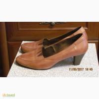 Туфли светло-коричневые типалодочка