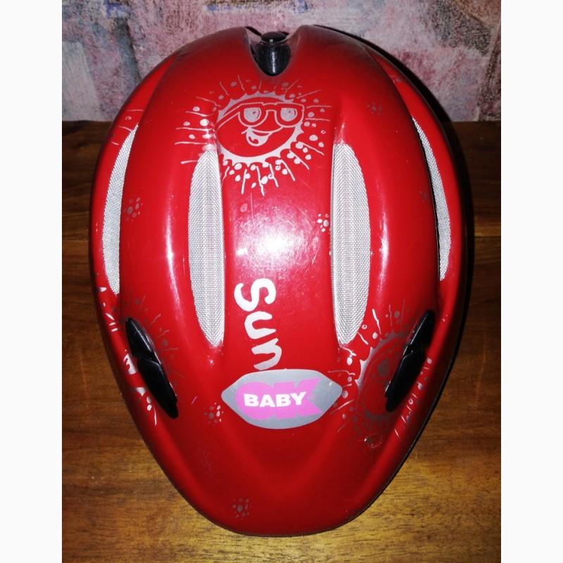 Фото 2. Детский велосипедный шлем, 44-50см