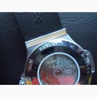 Часы механика влаго устойчевийе кожзамш ремешок чорний цветHublot Big