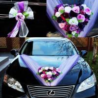 Продам украшение машины арт.8 на свадьбу