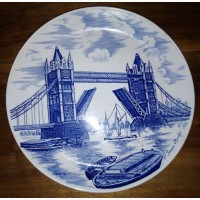 Декоративная тарелка на стену, Tower bride, Jonson Bros, England