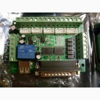 Интерфейсная плата для связи с компьютером станка ЧПУ. 5 Оси