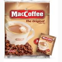Растворимый кофе (Маккофе) Maccoffee original 3в1, 100 пакетиков
