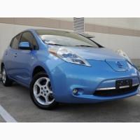 Nissan Leaf из Америки. Доставка и оформление под ключ
