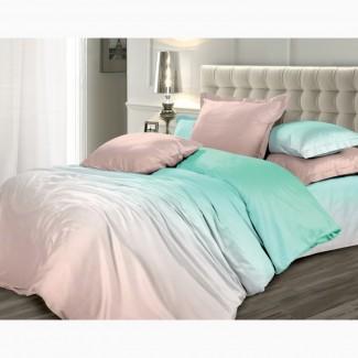 Мятный кварц, постельное белье сатин люкс качество (100% хлопок)